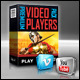 Premium Video Players Pack - FLV/YouTube/Vimeo - ActiveDen Item for Sale