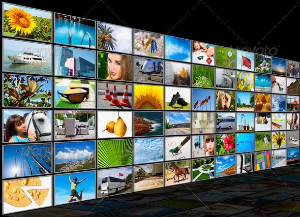 PhotoDune Screens multimedia panel 1987674