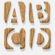 3d Wooden Alphabet - GraphicRiver Item for Sale