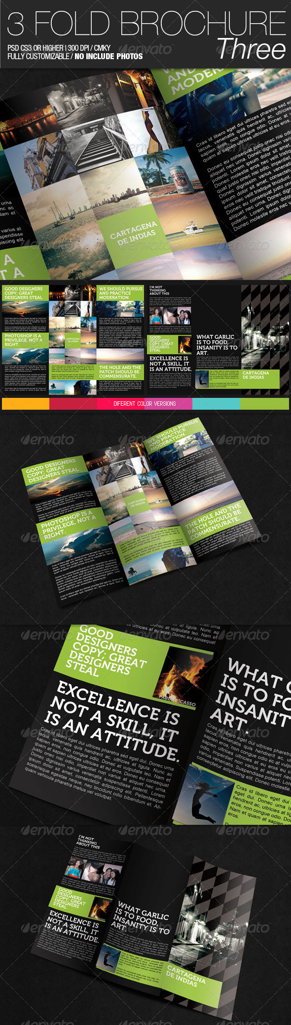 GraphicRiver 3 Fold Brochure III 400369