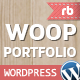 Woop - WordPress Single Page Portfolio  - ThemeForest Item for Sale