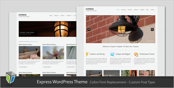 Express - Minimalist Business WordPress Theme