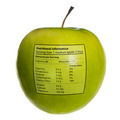 Isolated objects: apple with nutritional information - PhotoDune Item for Sale