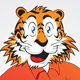 Funny Tiger - GraphicRiver Item for Sale