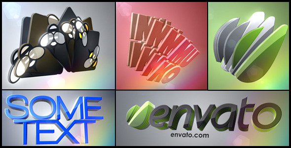 After Effects Project - VideoHive 3D Logo Layers 1991763