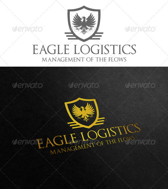 Eagle Logistics - Crests Logo Templates