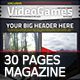 Videogames Magazine Template, with 3 Covers - GraphicRiver Item for Sale