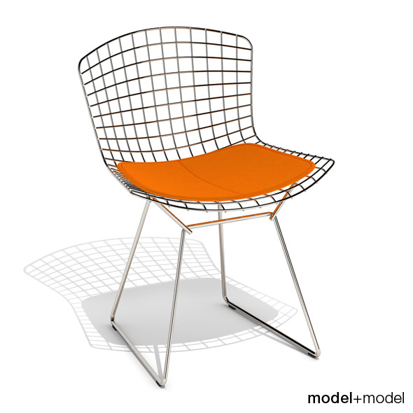 Knoll Bertoia side chair - 3DOcean Item for Sale