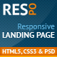 Respo - Responsive Landing Page - ThemeForest Item for Sale
