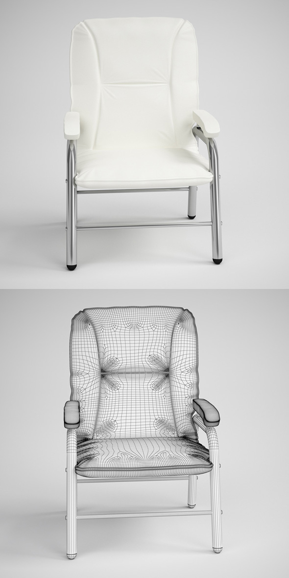 3DOcean CGAxis Photorealistic Armchair 03 231684