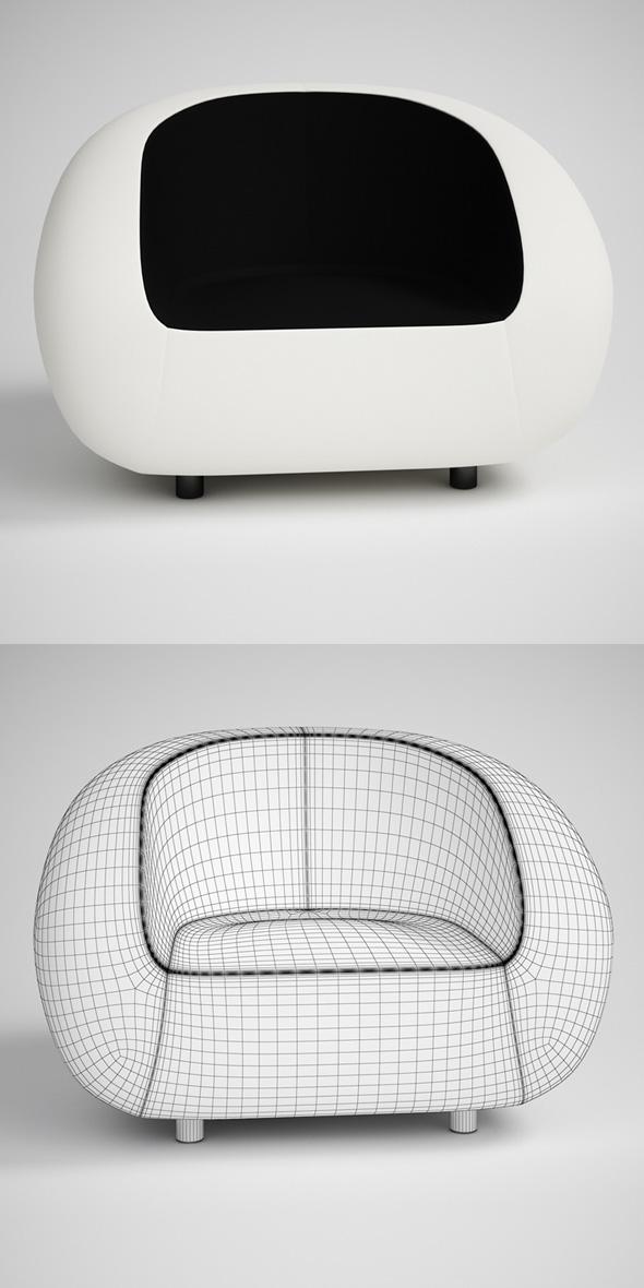 3DOcean CGAxis Modern Armchair 18 231715