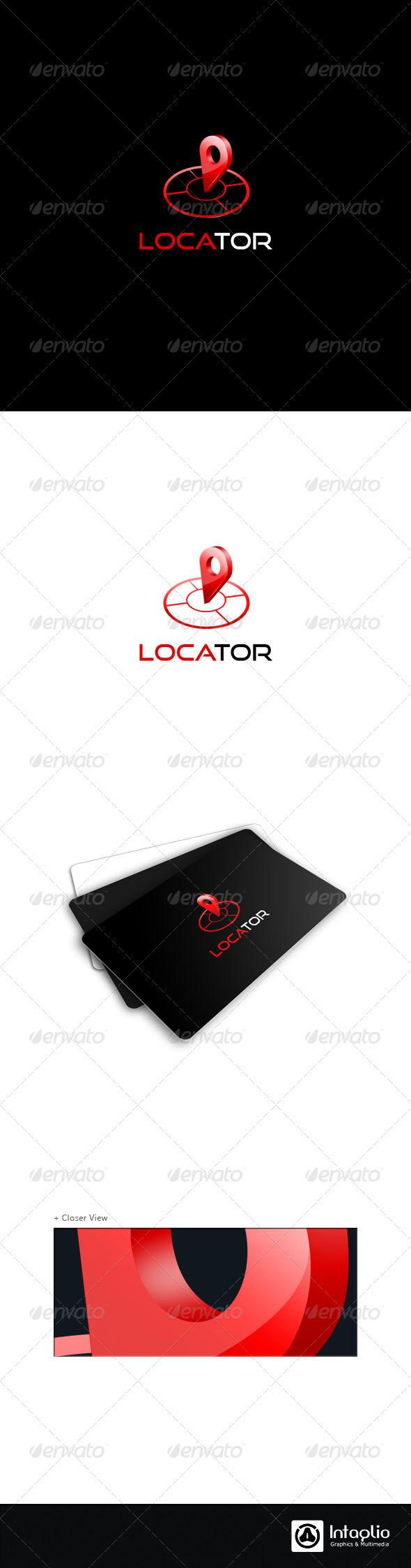 GraphicRiver 3D Navigation Logo Template Locator 1994686
