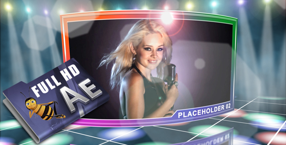 After Effects Project - VideoHive Party Light 232196