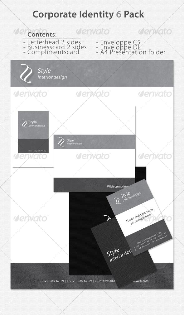 GraphicRiver Corporate Identity 6 Pack 71387