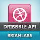 Dribbble APItizer - விற்பனை WorldWideScripts.net பொருள்