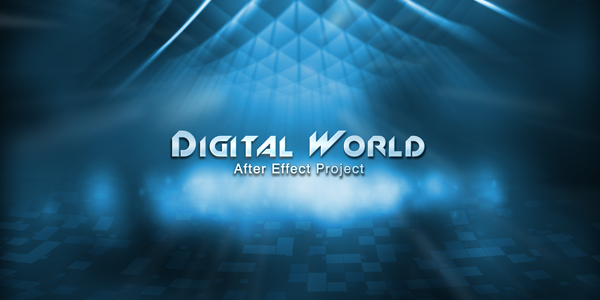 After Effects Project - VideoHive Digital World 232756