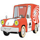 Cartoon Delivery Truck - GraphicRiver Item for Sale