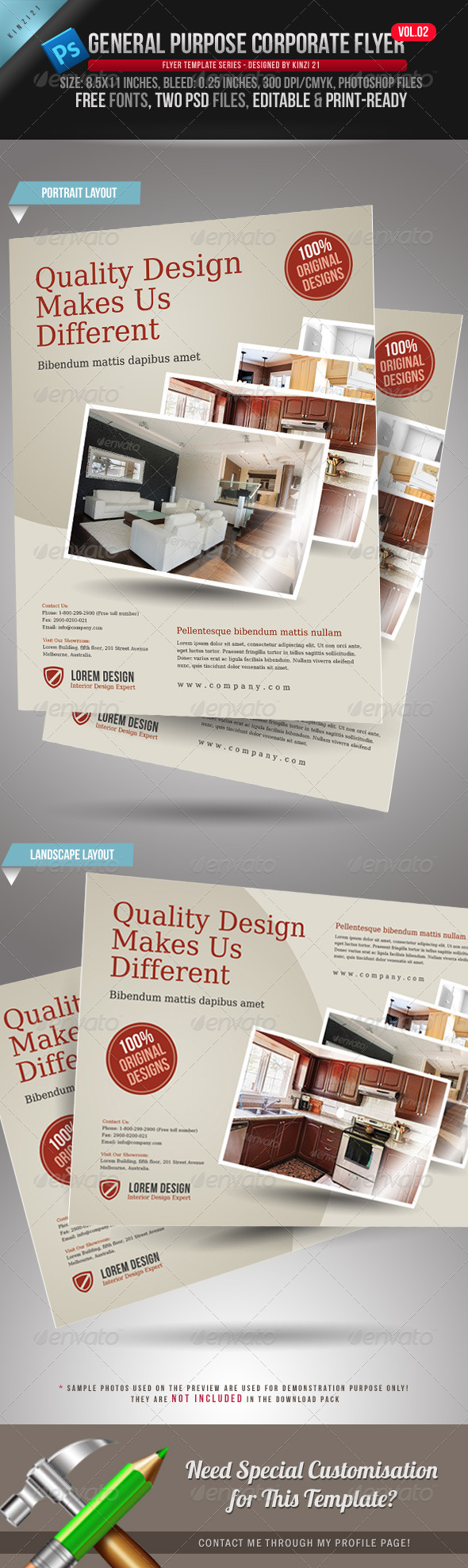 General Purpose Corporate Flyer Vol. 02 - Corporate Flyers