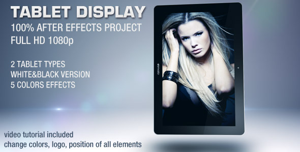 After Effects Project - VideoHive Tablet Display 2004371