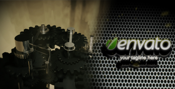 After Effects Project - VideoHive GEAR-LOGO 3d 231877