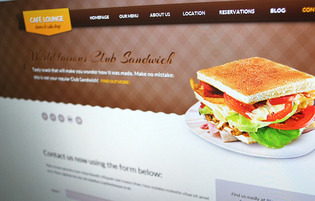 Coffee Lounge - Coffee, Bar and Bistro HTML Theme