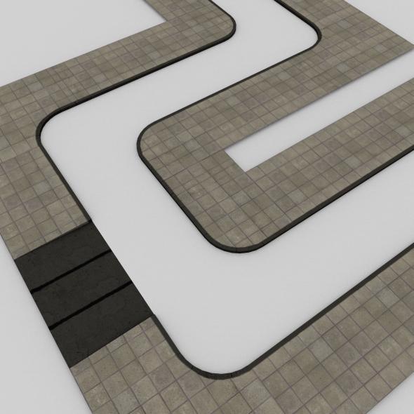 3DOcean Sidewalk Tileset 233165