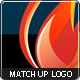 Match Up - Flame logo - GraphicRiver Item for Sale