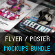 Flyer Poster Mockups Bundle - GraphicRiver Item for Sale
