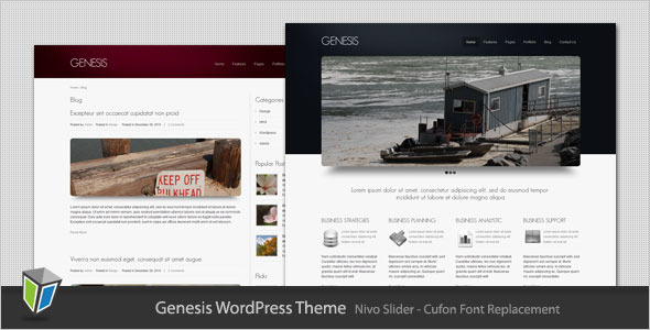 Genesis - Business and Portfolio WordPress Theme
