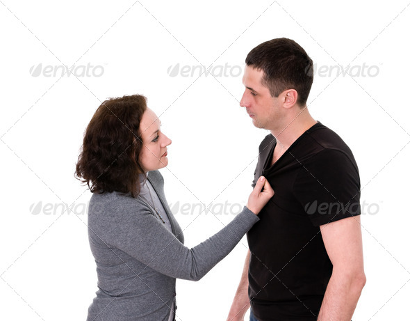 quarrel - Stock Photo - Images