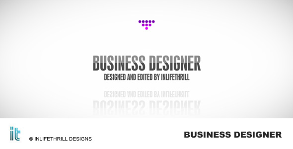 After Effects Project - VideoHive Business designer 233901