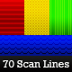 Ultimate ScanLines & Micro Patterns - 70 Pack - GraphicRiver Item for Sale