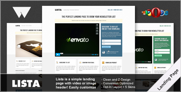 Lista Landing Page - Corporate Landing Pages