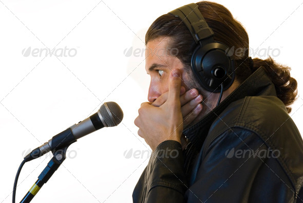 Latino Rockstar - Stock Photo - Images