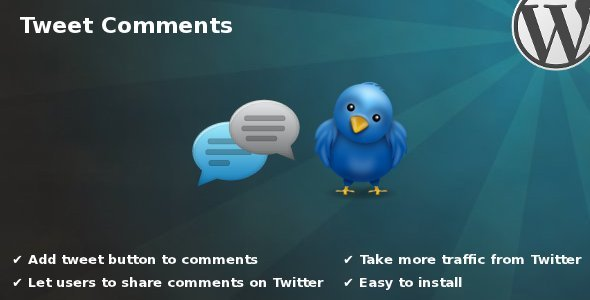 Tweet Comments - CodeCanyon Item for Sale