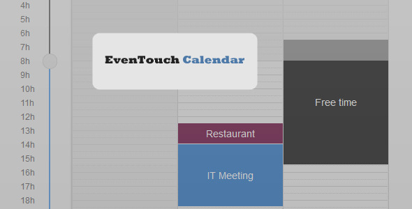 EvenTouch Calendar - CodeCanyon Item for Sale