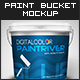Paint Bucket Mockup - Premium Kit - GraphicRiver Item for Sale