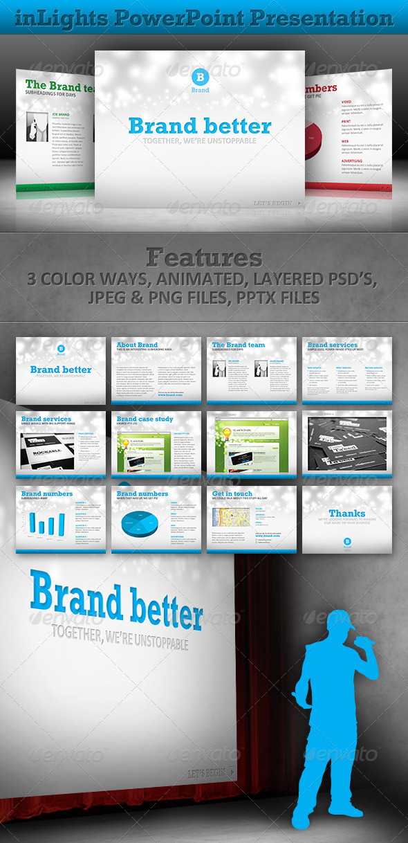 GraphicRiver inLights Power Point Presentation 234434