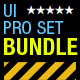Tablet/Phone UI PROFESSIONAL SET BUNDLE - GraphicRiver Item for Sale