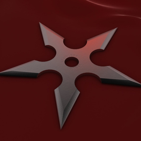 3DOcean 5 Point Shuriken 2021224
