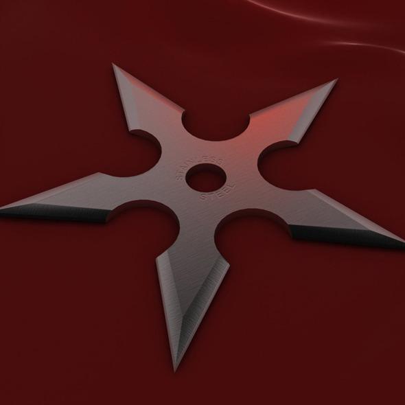 3DOcean 5 Point Shuriken 2021224