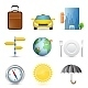 Travel Icons Symbol Collection - GraphicRiver Item for Sale