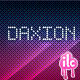 Daxion Dotted Font - GraphicRiver Item for Sale