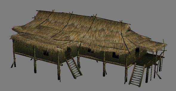 3DOcean vietnam hut 235023