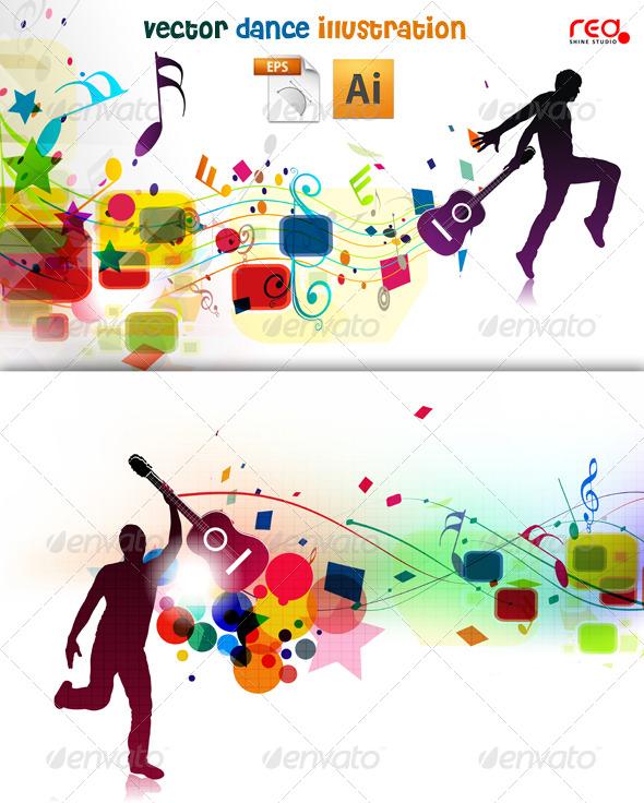 ... music background 235048 illustrator vector decorative backgrounds