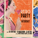 Party Retro Pin-Up Flyer A5 Format  - GraphicRiver Item for Sale