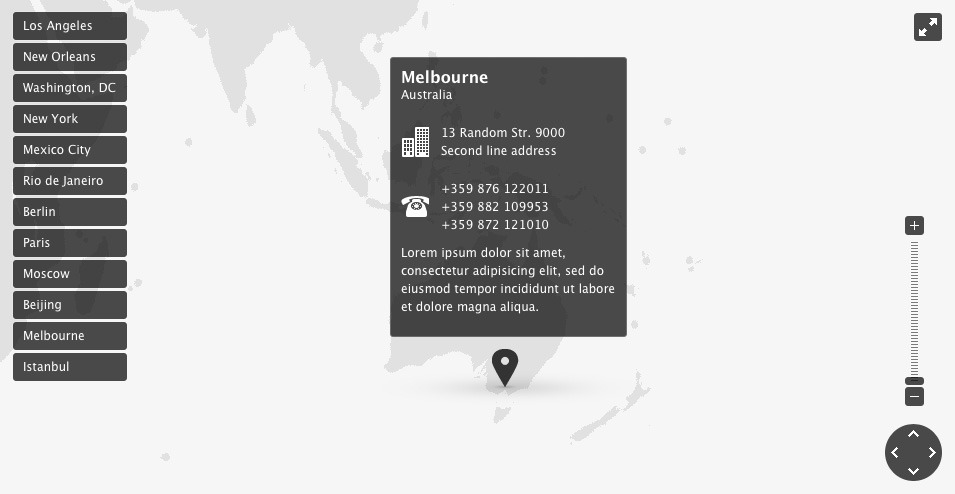 Rockstar Map for WordPress