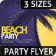 Beach Party Flyer Poster - GraphicRiver Item for Sale