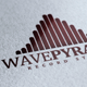 Wave Pyramid Logo - GraphicRiver Item for Sale