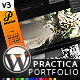 Practica Portfolio - Sophisticated WordPress Theme - ThemeForest Item for Sale